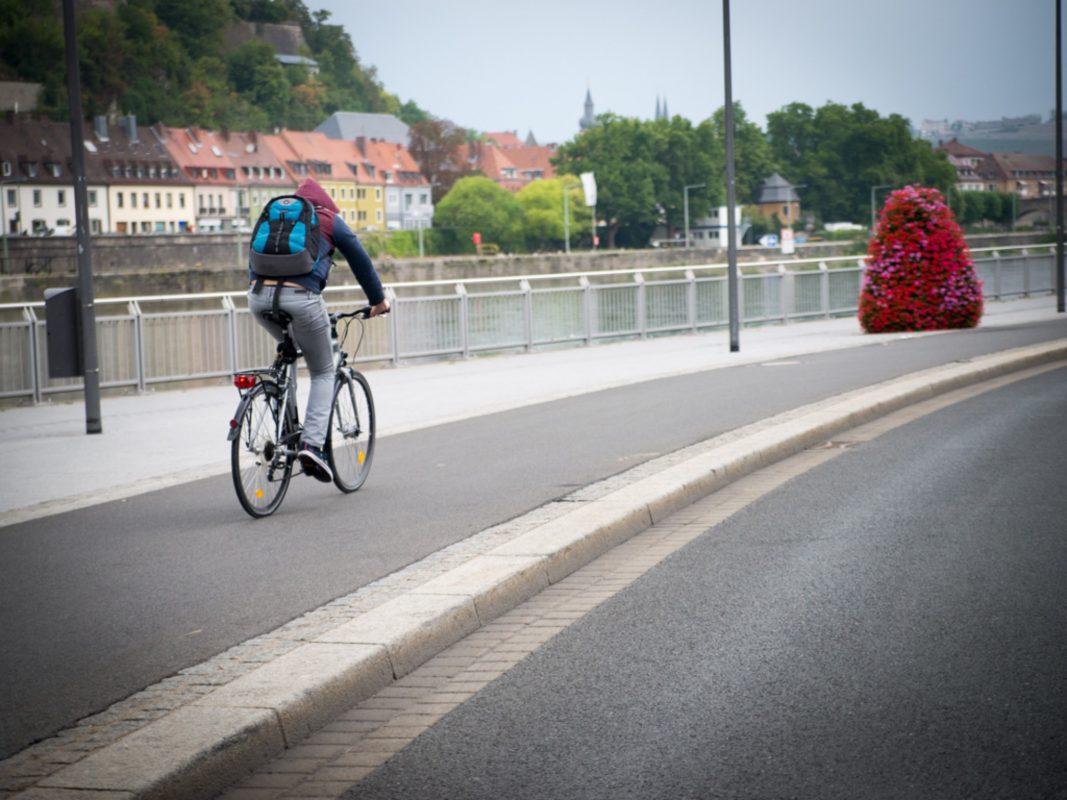 Fahrrad fahren. Symbolfoto: Pascal Höfig