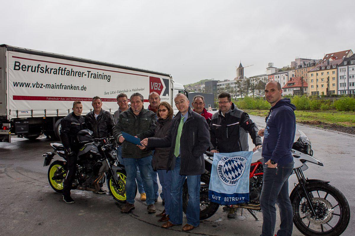 Am Greinbergknoten gibt es jetzt einen neuen Übungsplatz für LKW- und Motorradfahrschulen. Foto: Claudia Lother