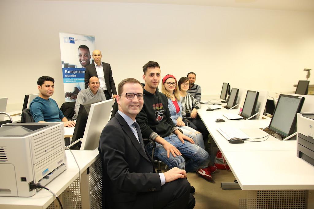 Dank dem Online-Portal check.work wird der Berufseinstieg für Flüchtlinge künftig einfacher. Foto: IHK