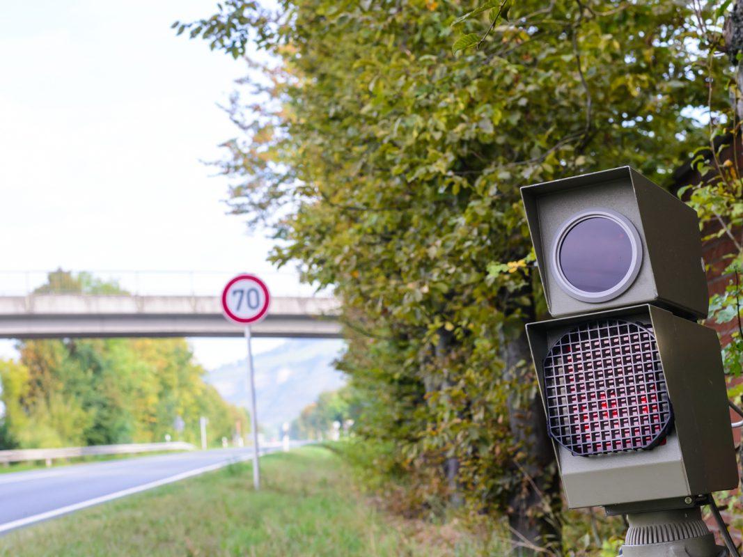 Blitzanlage auf der B27 – Symbolfoto: Pascal Höfig
