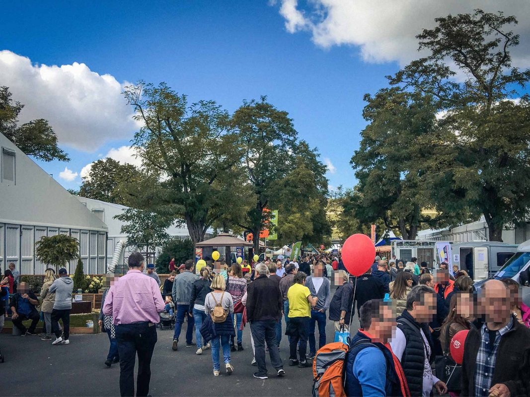 Rund 103.200 Besucher strömten über die diesjährige Mainfranken-Messe - Foto: Frederik Löblein.