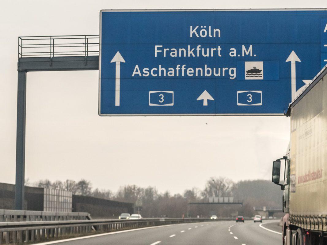 Die A3 in Richtung Frankfurt. Foto: Pascal Höfig