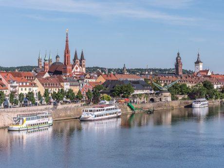 Blick auf Würzburg. Foto: Pascal Höfig