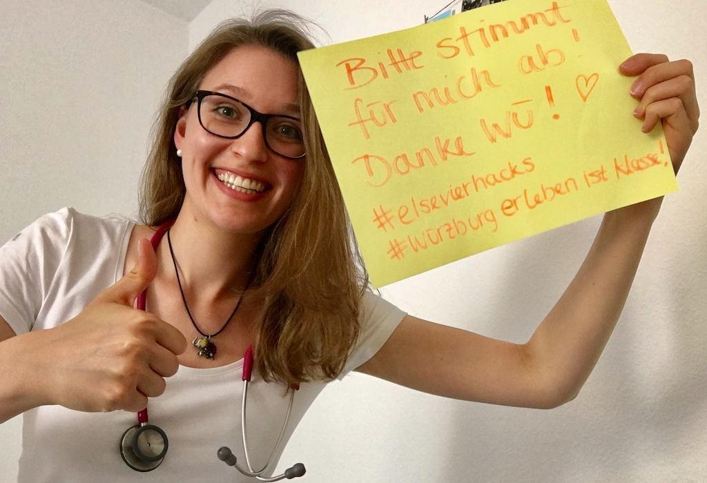 Für Anne-Marie abstimmen! Foto: Anne-Marie Kladny