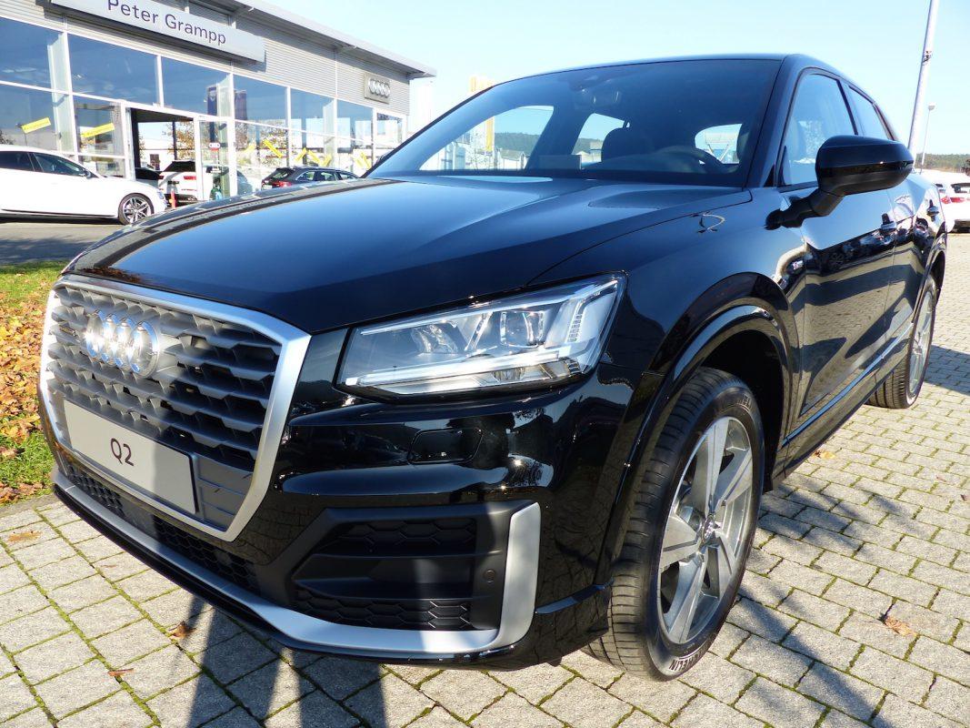 Gewinne ein Wochenende mit einem Audi Q2. Foto: Autohaus Grampp.