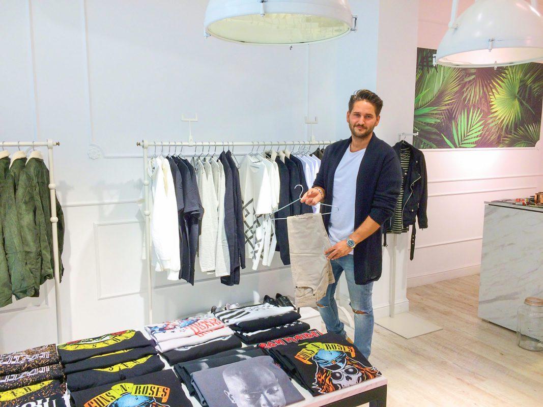 Der Inhaber von Avenue Clothing: Lucas Auinger. Foto: Anna