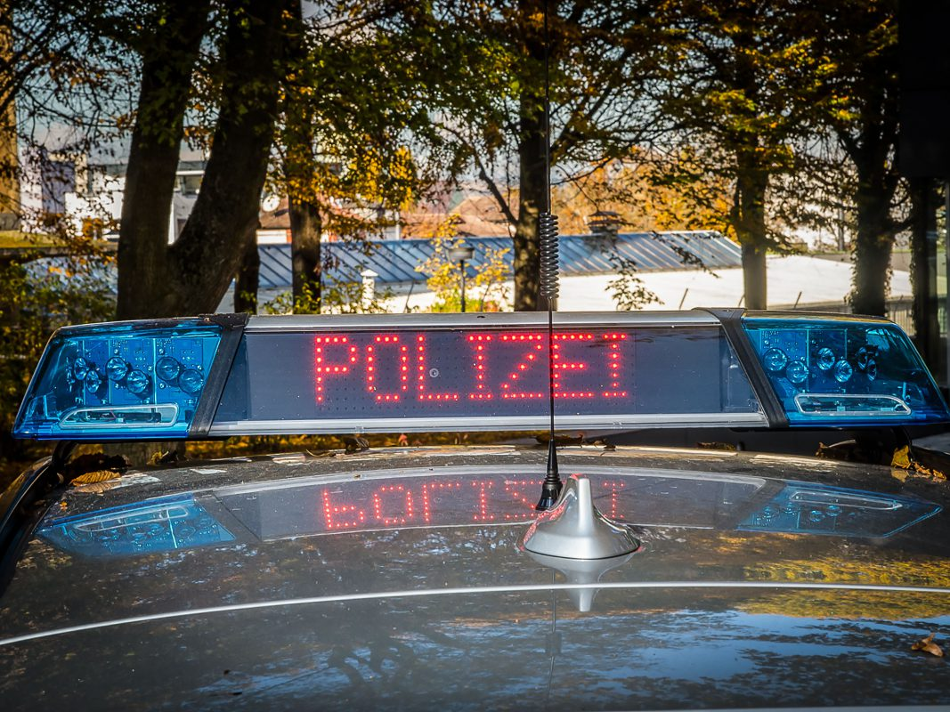 "Streifenwagen LED ""Polizei"" -Symbolfoto: Pascal Höfig"