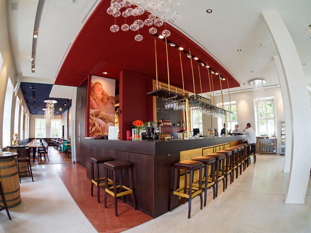 Die Bar der B. Neumann Residenzgaststätte. Foto: B. Neumann Residenzgaststätte