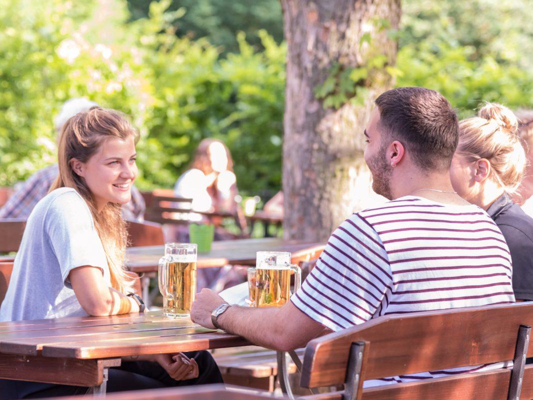 Gewinne ein Biergarten-Paket für Dich und Deine Freunde. Foto: Pascal Höfig