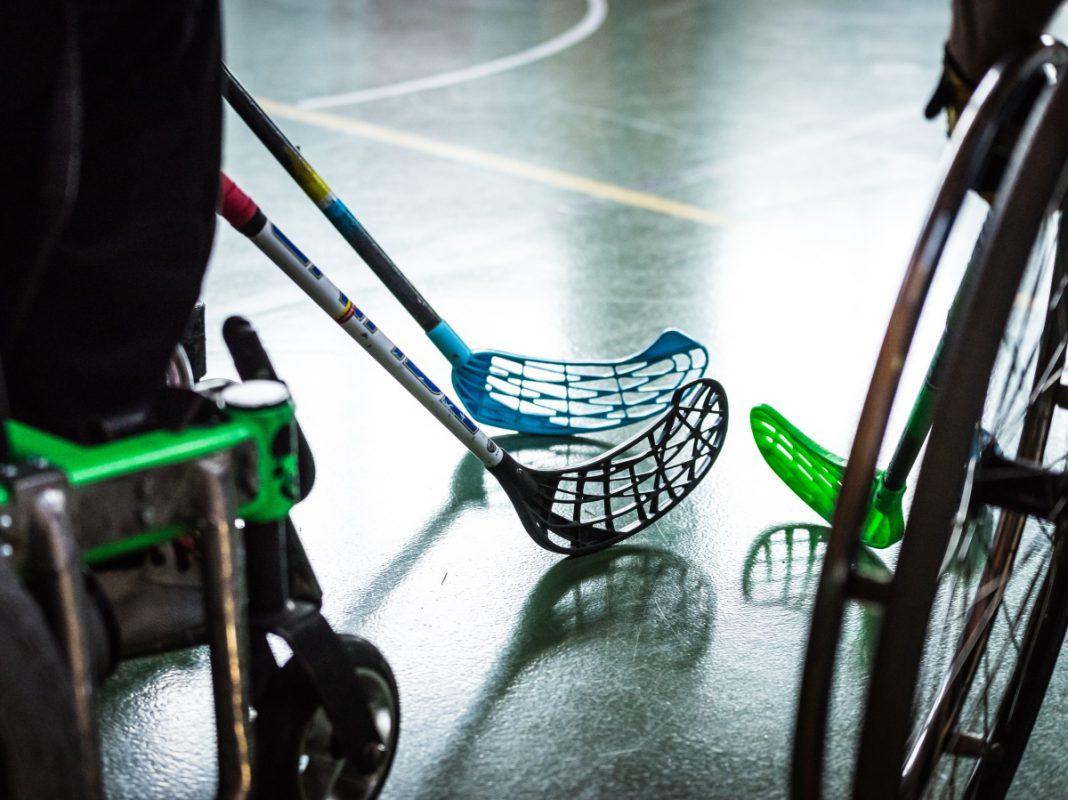 E-Hockey und viele andere Sportarten können bei No Limits erlebt werden. Foto: Pascal Höfig