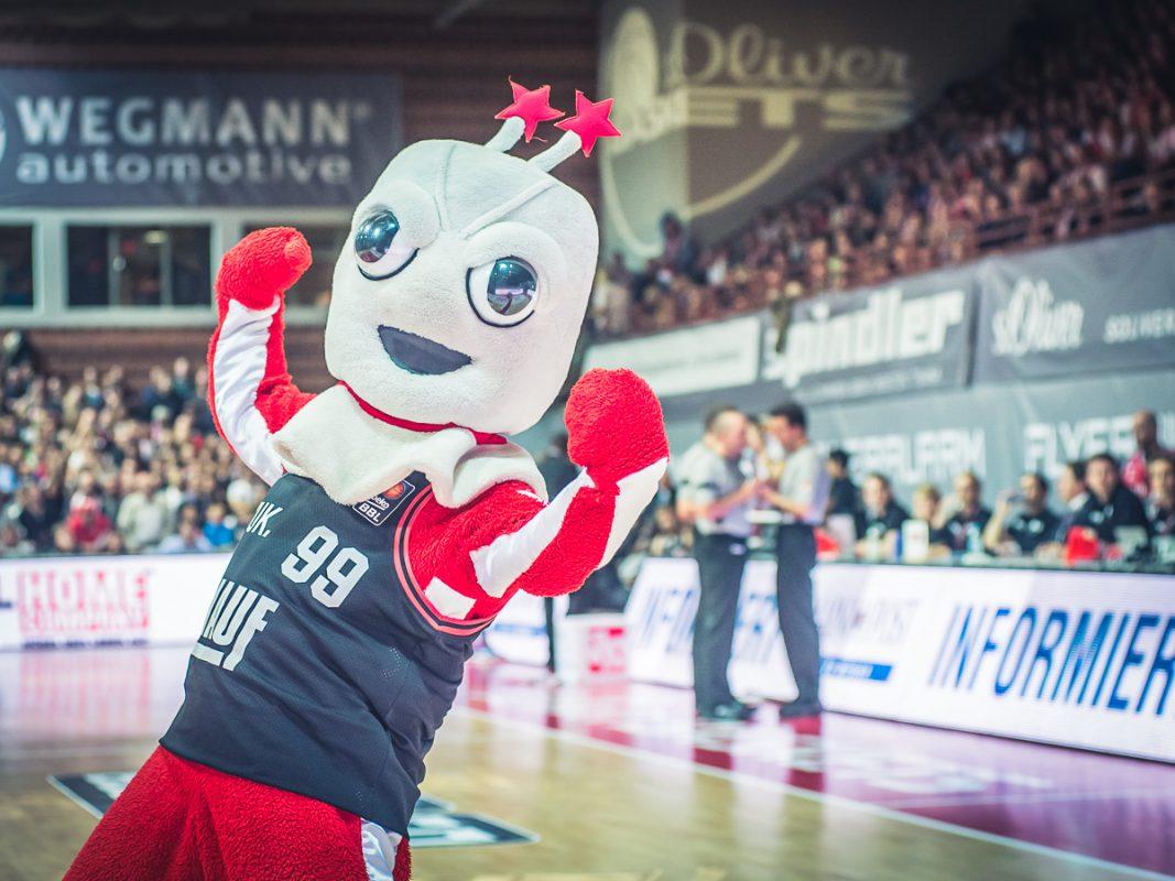 Maskottchen Olli 99. Foto: Pascal Höfig