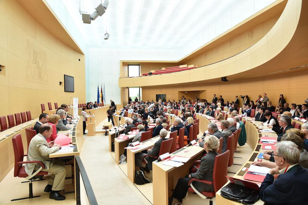Bayerischer Landtag. Foto: Rolf Poss, Bildarchiv Bayerischer Landtag