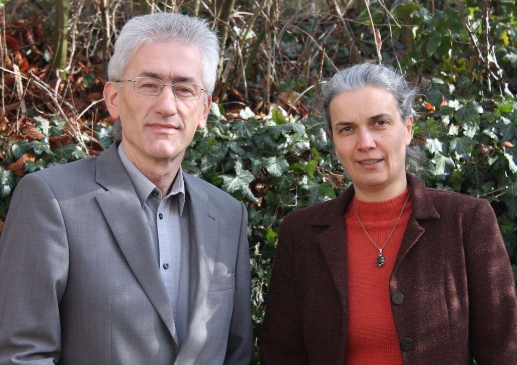 Bundestagsdirektkandidat Raimund Binder mit Kreisvorsitzende Dagmar Dewald - Foto: ÖDP