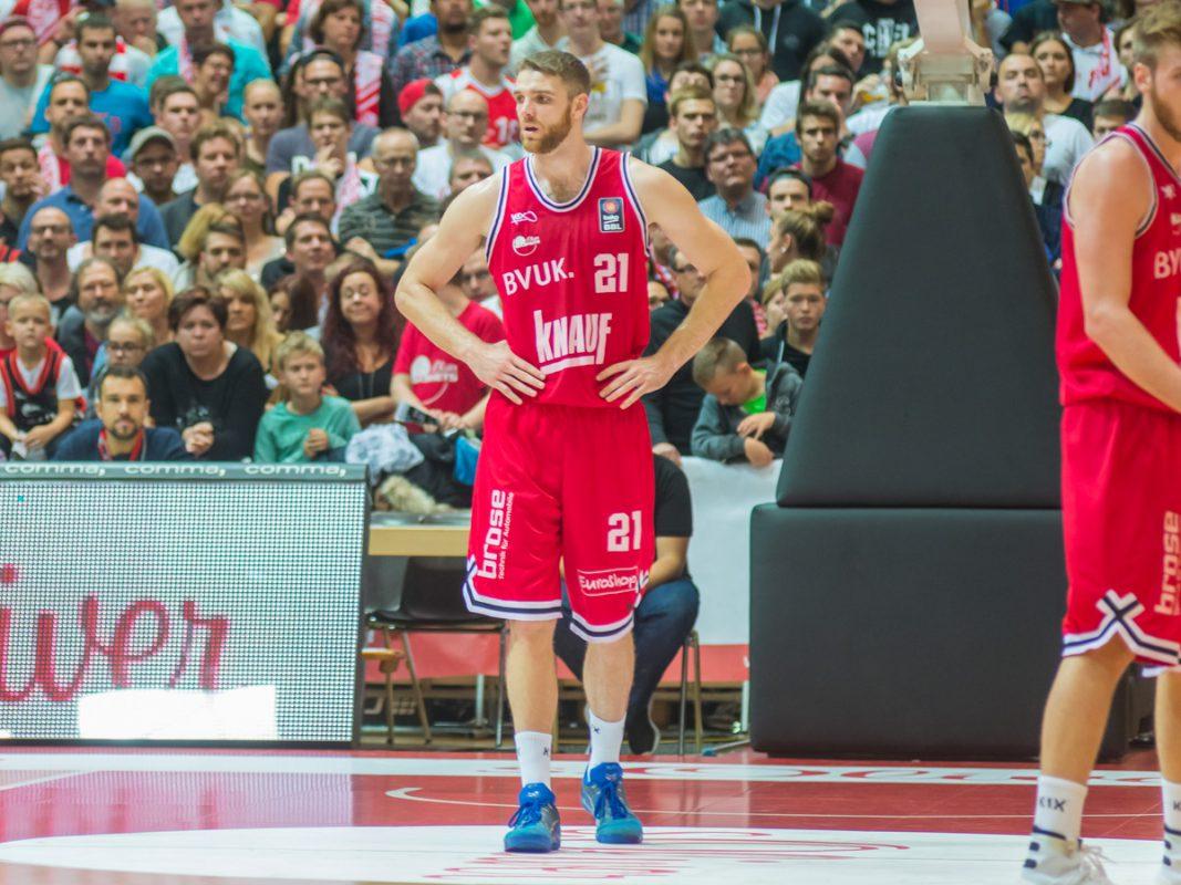 Brendan Lane von den s.Oliver Baskets – Foto: Pascal Höfig