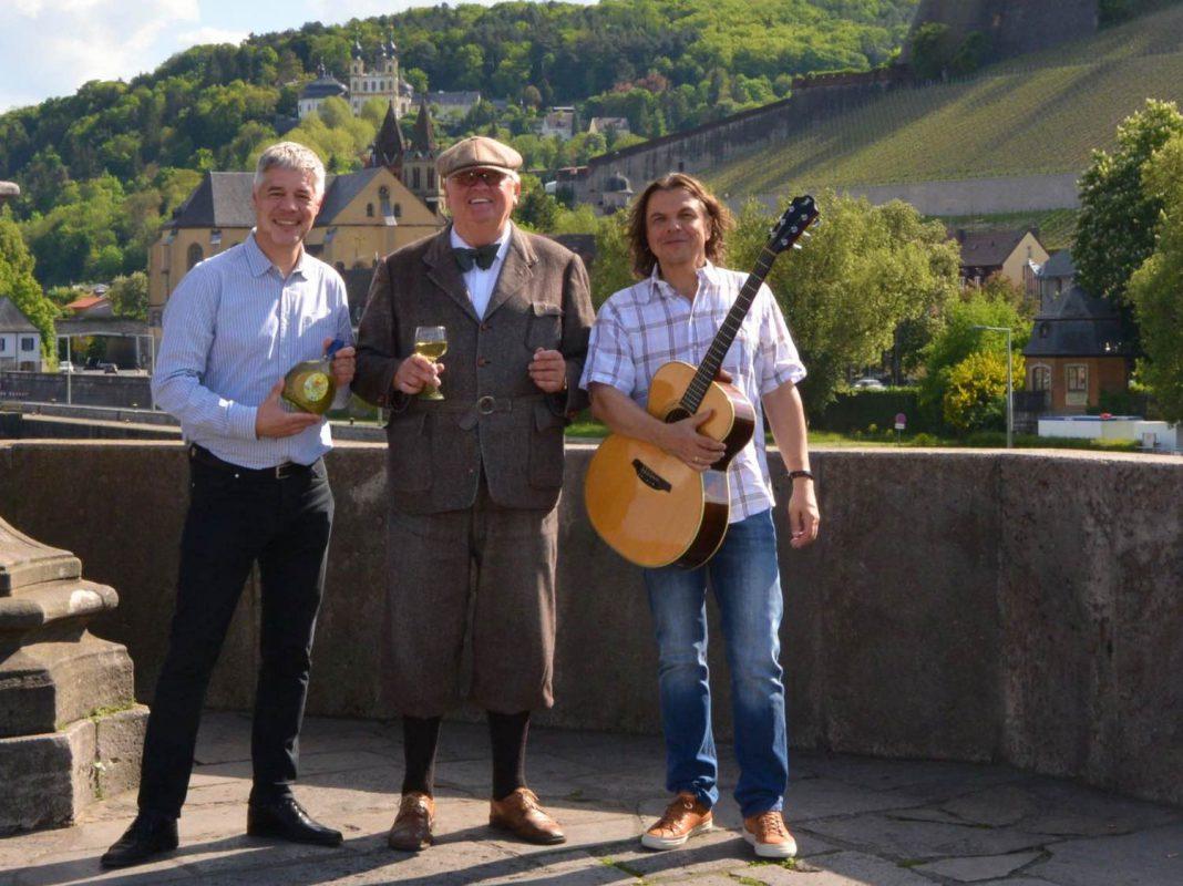 Gunther Schunk, Peter Auffermann und Klaus Wolf haben den Brückensong ins Leben gerufen. Foto: Gunther Schunk