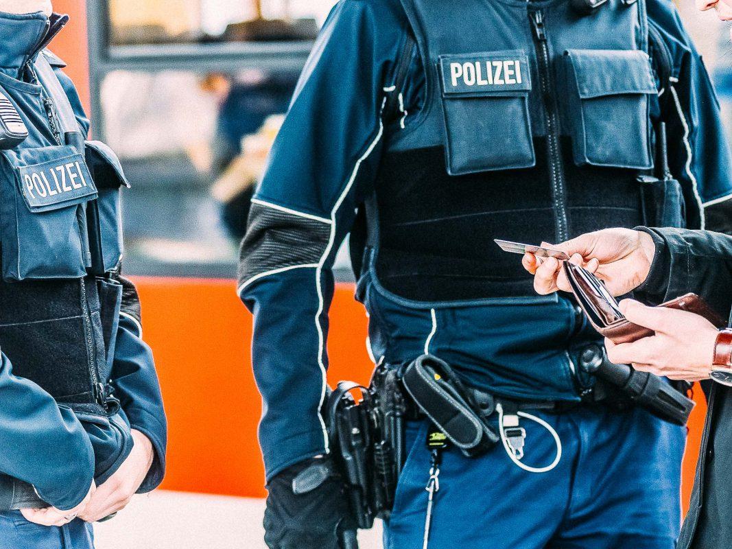 Beamte der Bundespolizei Würzburg am Hauptbahnhof Würzburg. Symbolfoto: Pascal Höfig