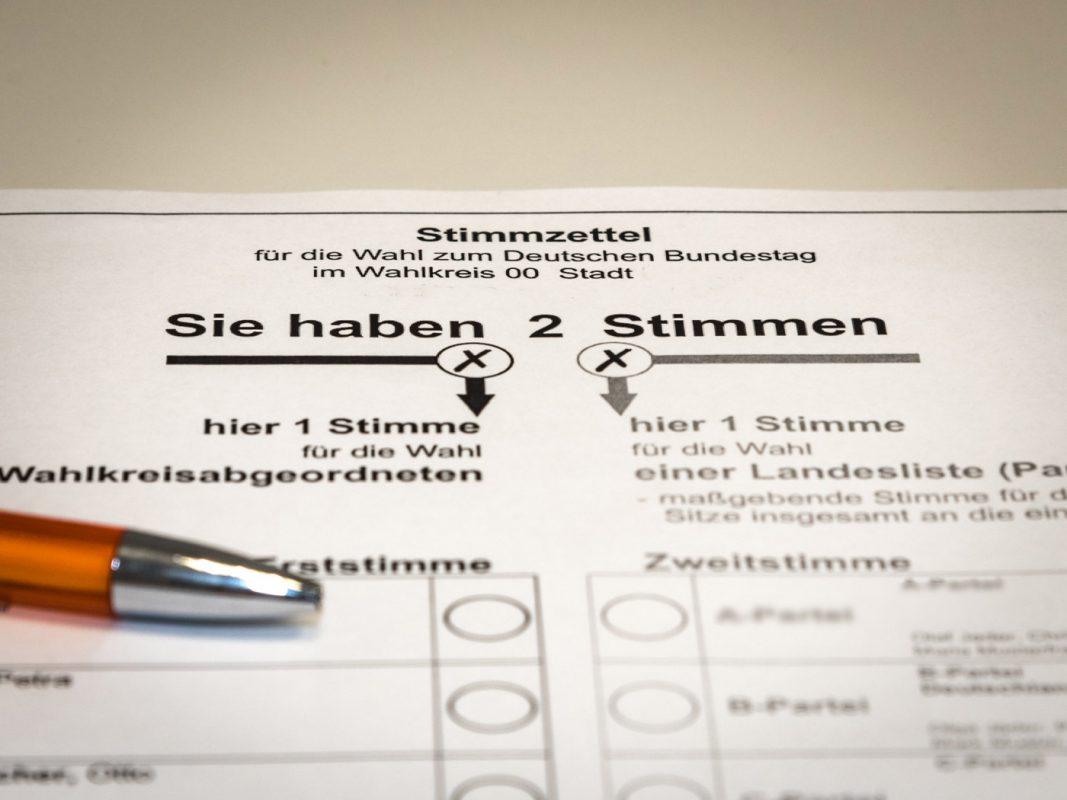 Symbolfoto Stimmzettel. Foto: Pascal Höfig