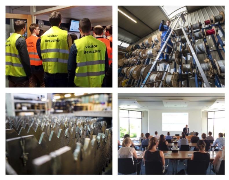 Bis zum 09. Juni kann man sich noch für die Career Tours anmelden. Fotos: Region Mainfranken GmbH / A. Hub