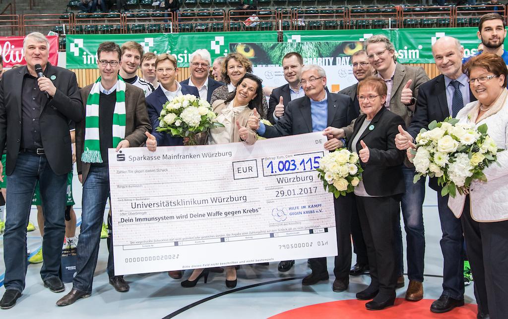 Über 1 Million Euro konnte für die Würzburger Krebsforschung gesammelt werden - Foto: Silvia Gralla