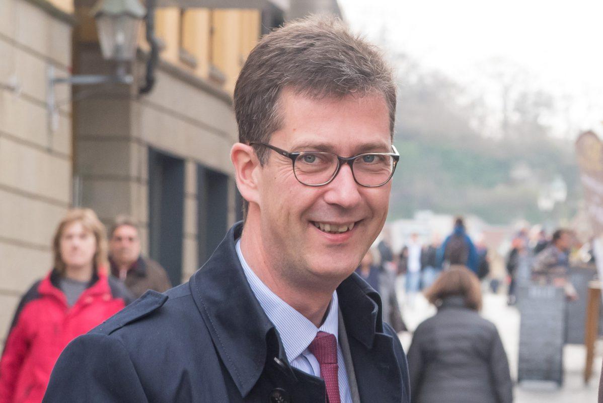 Würzburgs Oberbürgermeister Christian Schuchardt. Foto Pascal Höfig