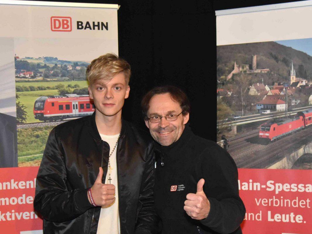 Raus aus dem Alltag - rein ins Musikerlebnis mit Jonas Monar. Foto: DB Regio