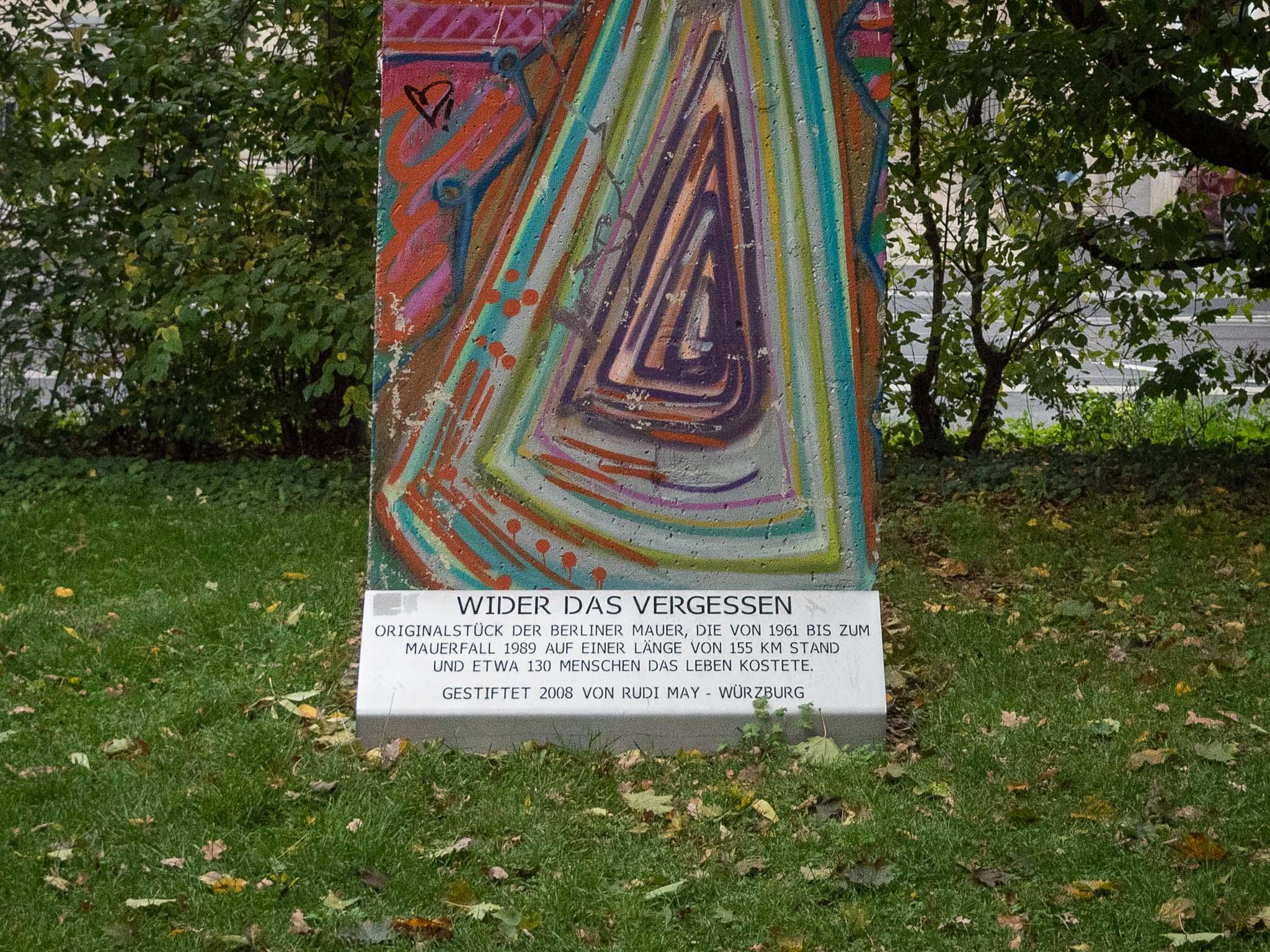 Ein Stück der Berliner Mauer. Foto: Pascal Höfig