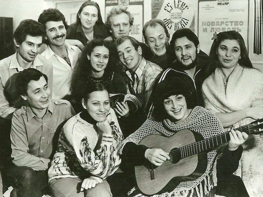 Deutsches Theater Temirtau-Almaty 1985 Kasachstan. - Archiv: Stadt Volkach
