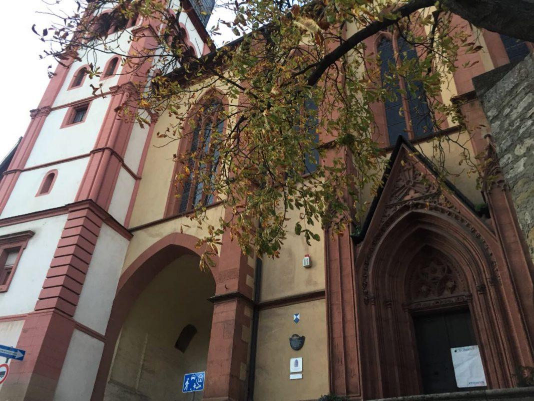 Evangelische Deutschhauskirche Würzburg. Foto: Katharina Kraus