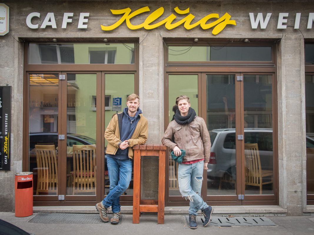 Roman und Christian, die Inhaber vom Klug. - Foto: Pascal Höfig