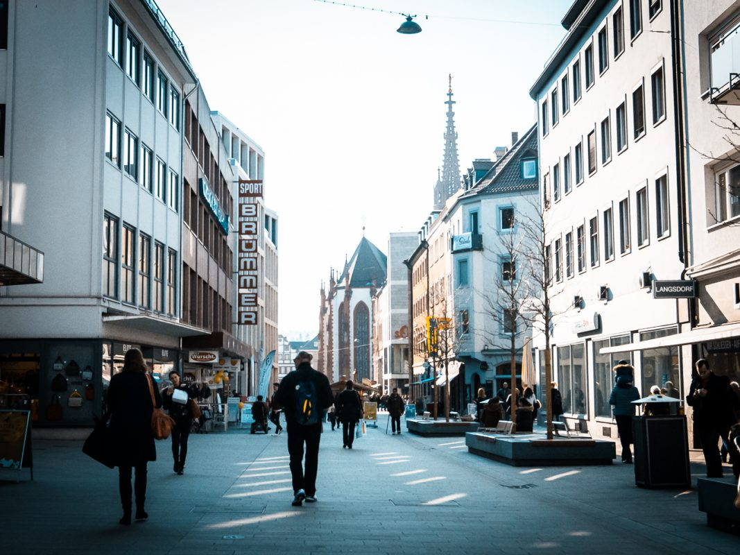 Die Eichhornstraße in Würzburg - Foto: Pascal Höfig