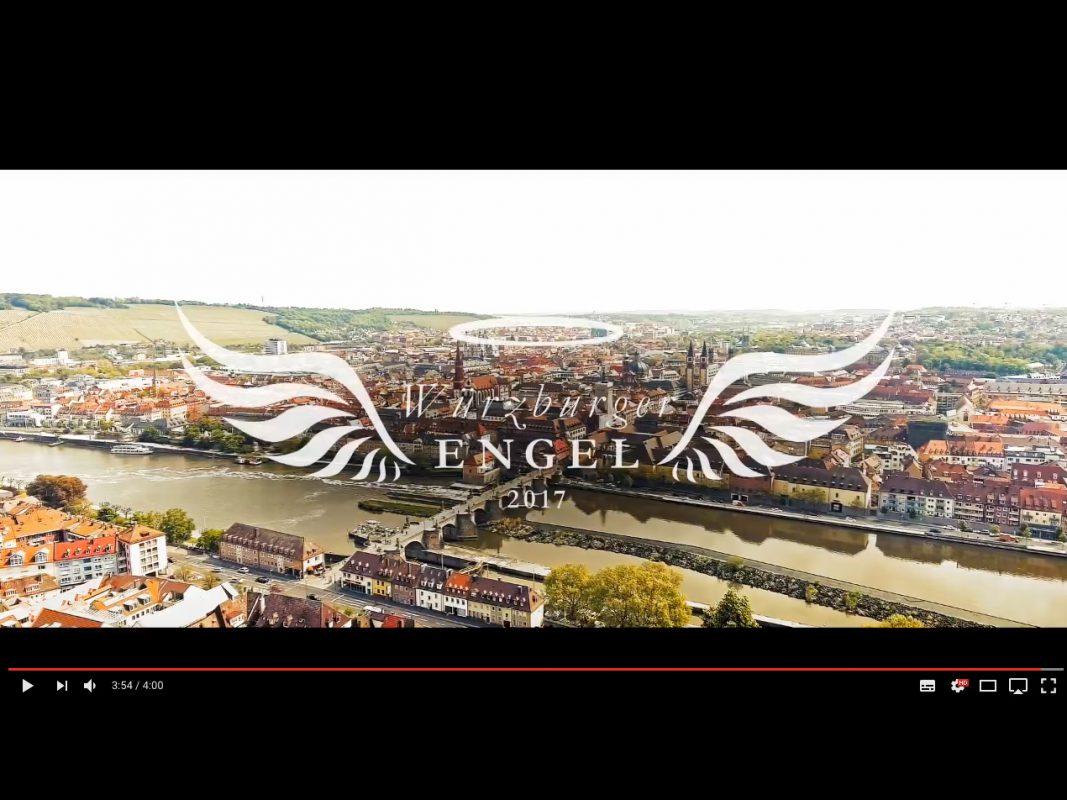 Der Würzburger Beitrag für die Medimeisterschaften 2017. Screenshot: Würzburger Engel