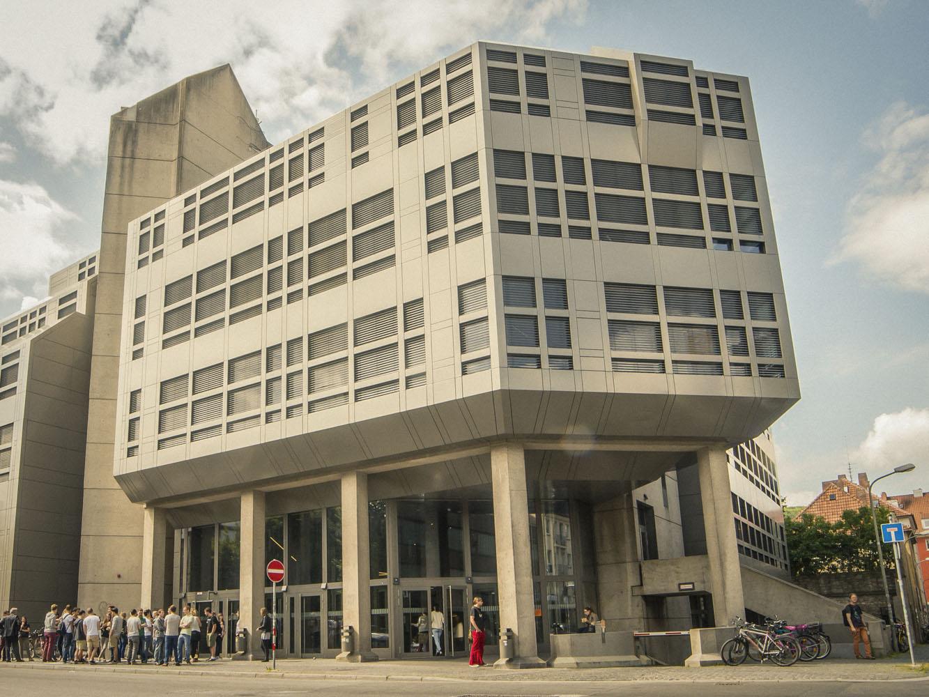 FHWS-Gebäude in der Münzstraße. Foto: Pascal Höfig