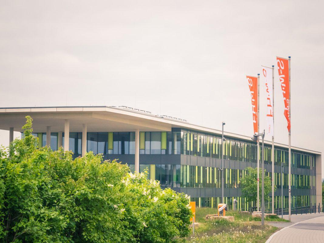 Die FHWS am Sanderheinrichsleitenweg. Foto: Pascal Höfig
