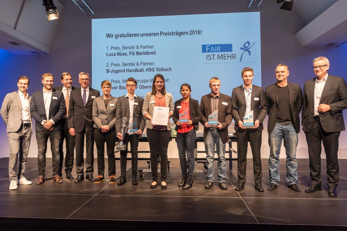 Die Rechtsanwälte Bendel & Partner und die Mainpost richteten die Veranstaltung aus. Foto: Pascal Höfig