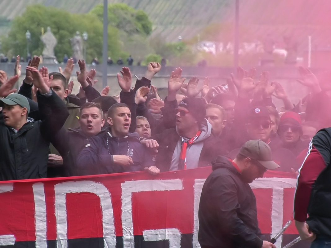 Anhänger des 1. FCN. Foto: Pascal Höfig