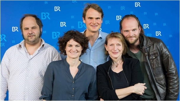 Matthias Egersdörfer, Eli Wasserscheid, Fabian Hinrichs, Dagmar Manzel, Andreas Leopold Schadt - Foto: BR/Julia Müller