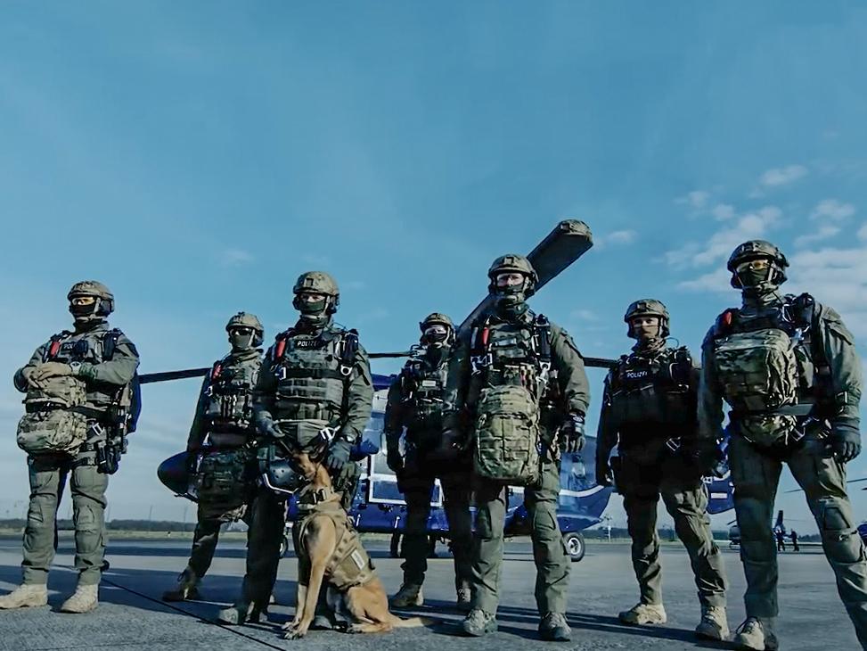 Die GSG 9 BPOL zur Bekämpfung von Schwerst- und Gewaltkriminalität sowie Terrorismus - Foto: Bundespolizei