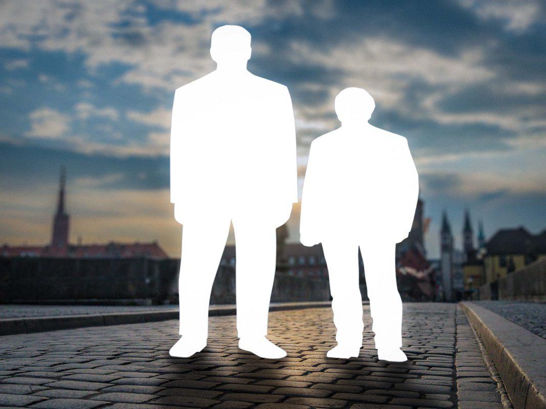 Würzburger Pfundskerle gesucht – jetzt teilnehmen und das Gesicht der 3XL-Male-Kollektion von Gebrüder Götz werden. Fotomontage: Dominik Ziegler