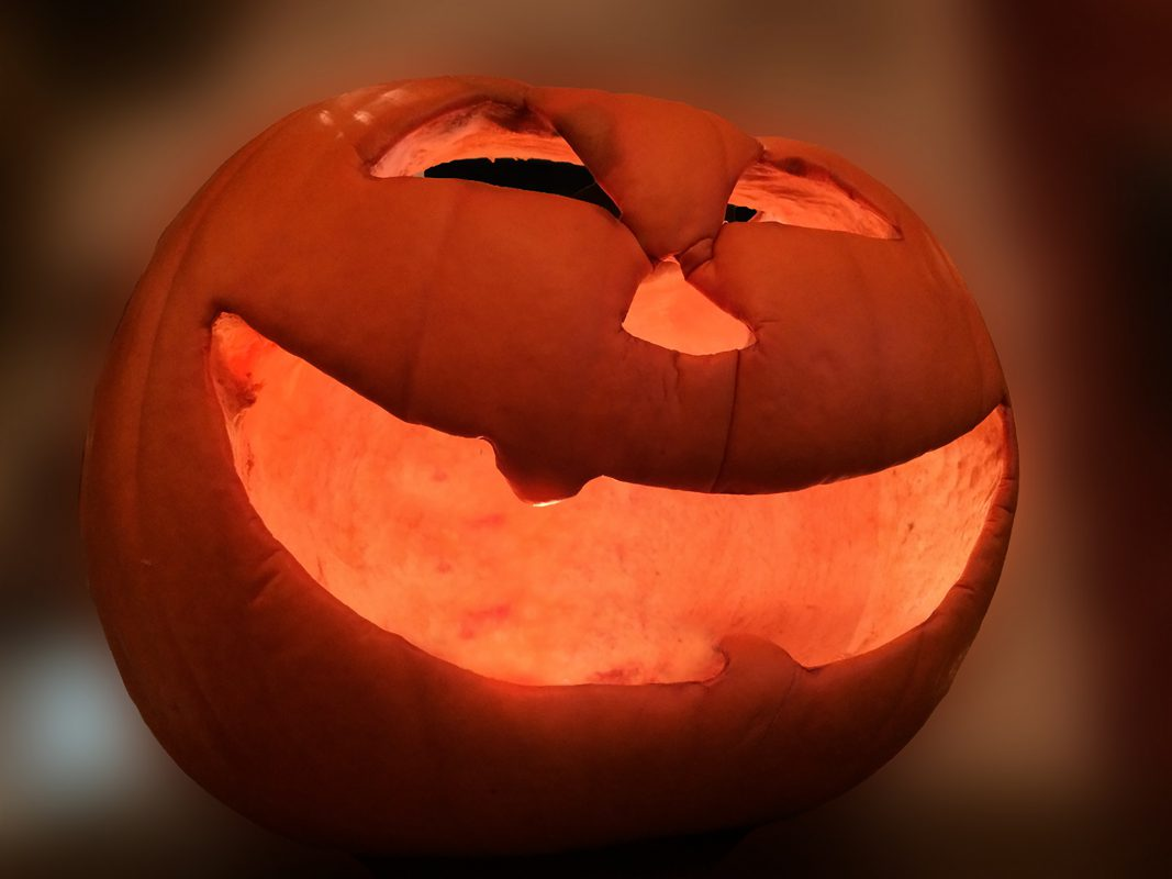 Kürbis an Halloween. Symbolfoto: Pascal Höfig