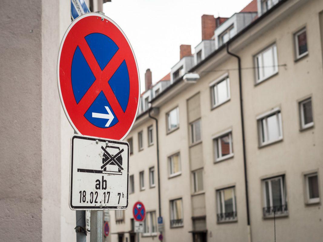 Halteverbote am 18.Februar - Foto: Pascal Höfig