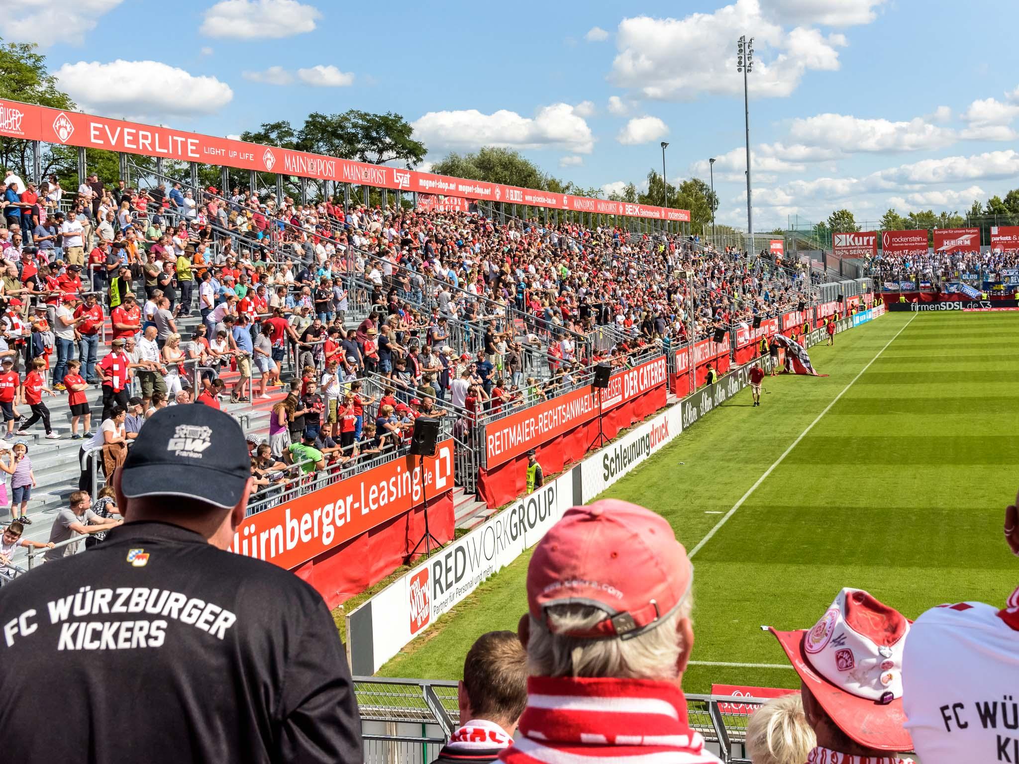 Kickers Stadion am Dallenberg. Foto: Pascal Höfig