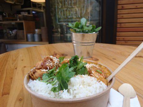Mittagessen in der Happy Street Kitchen. Foto:Barbara Duna
