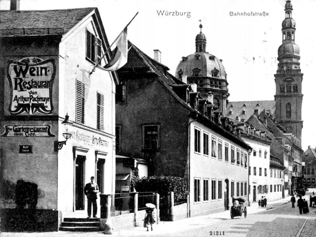 Bildspaziergang durch das Hauger Viertel. Archiv: Willi Dürrnagel