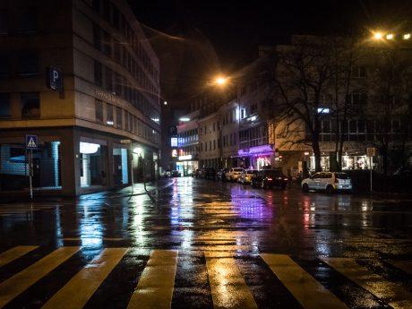 Die Haugerpfarrgasse/Bahnhofstraße - Foto: Pascal Höfig