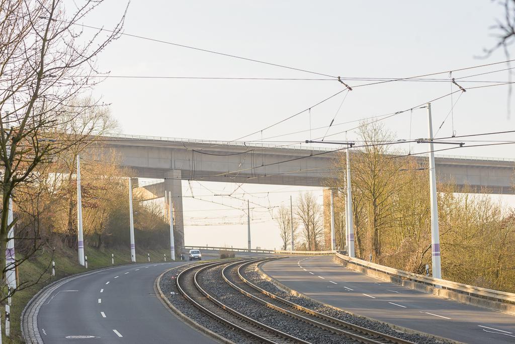 Die Heuchelhofstraße – Foto: Pascal Höfig