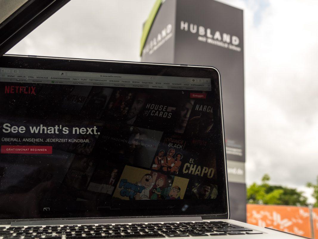 Schnelles Internet für den neuen Stadtteil Hubland – unter anderen zum Streamen und für einen schnellen Up- und Download. Foto: Pascal Höfig