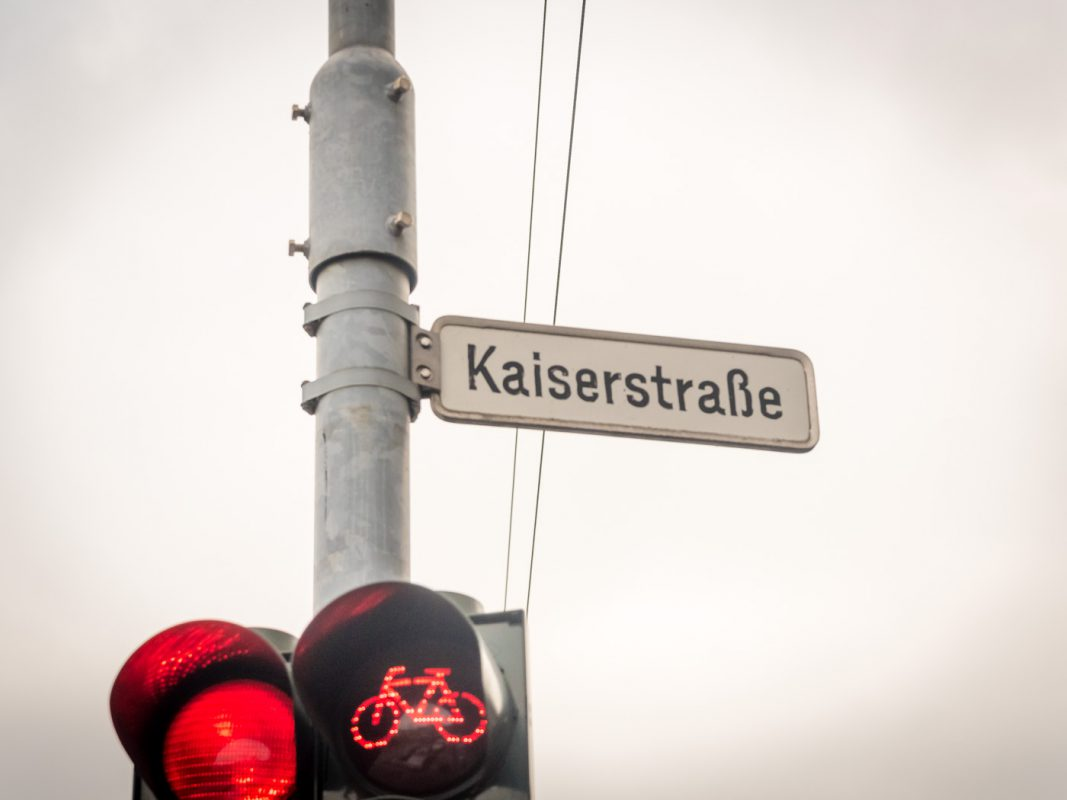 Die Kaiserstrasse. Foto: Pascal Höfig