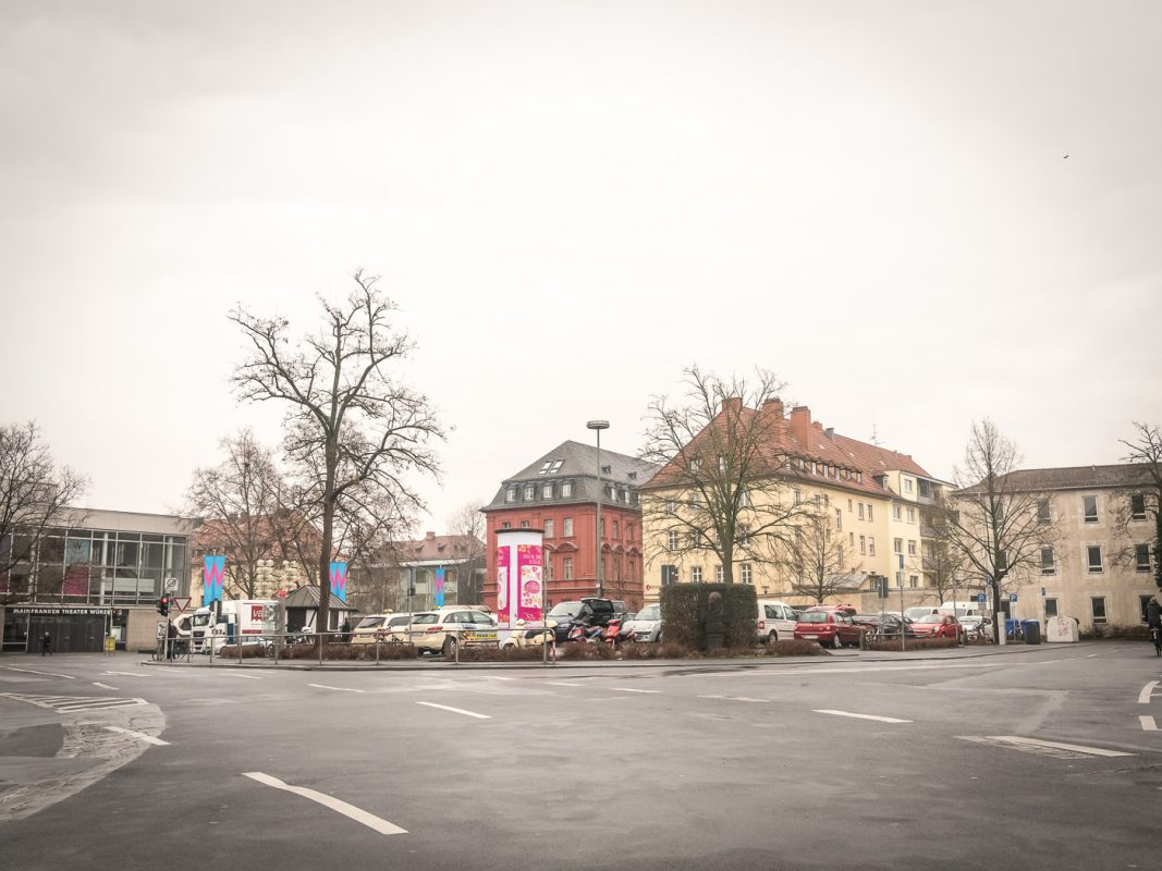 Der Kardinal Faulhaber Platz. Foto: Pascal Höfig