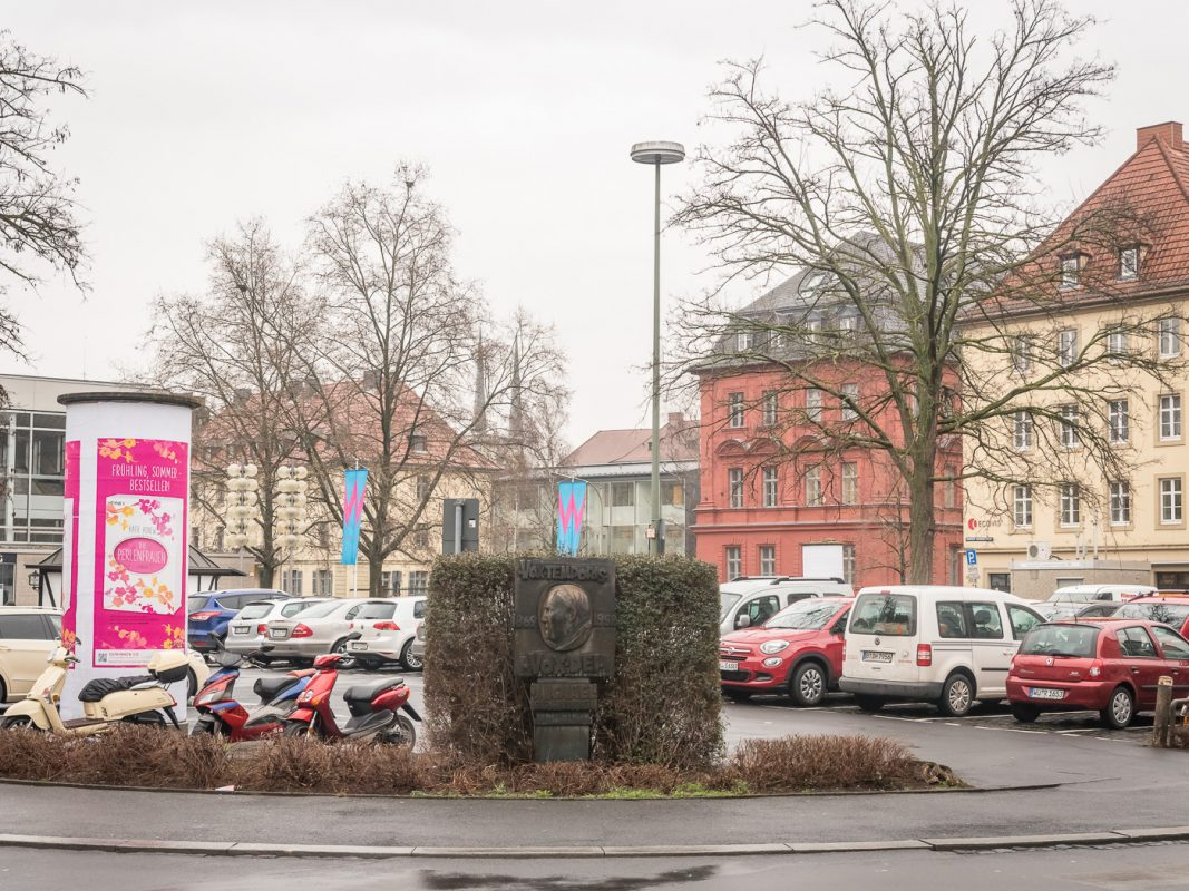 Der Kardinal-Faulhaber-Platz. Foto: Pascal Höfig