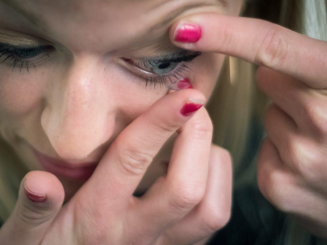 Bei Kresinsky gibt es jetzt Kontaktlinsen für die digitale Generation. Foto: Pascal Höfig